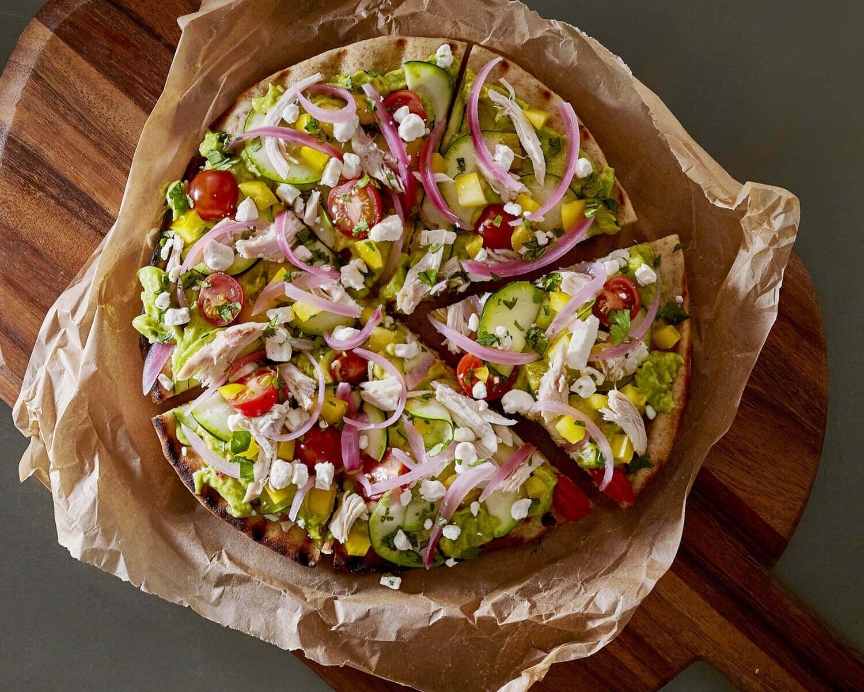 Fresh Guacamole <br>Pizzettes