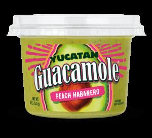 Peach Habanero Guacamole