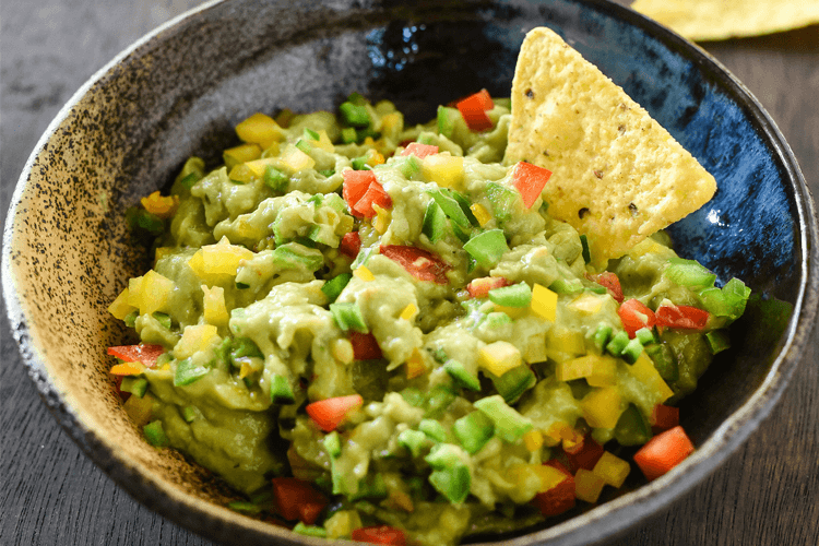 Six Pepper Killer Guacamole