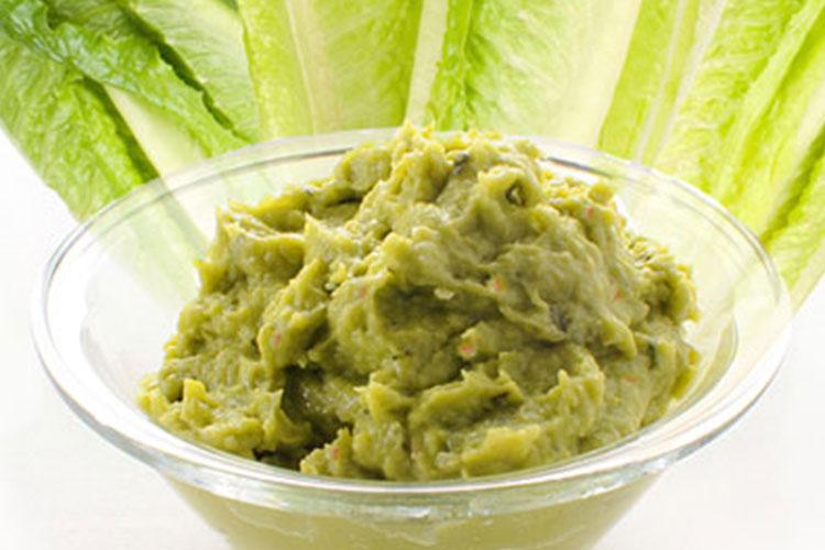 Green Goddess Guacamole Dip