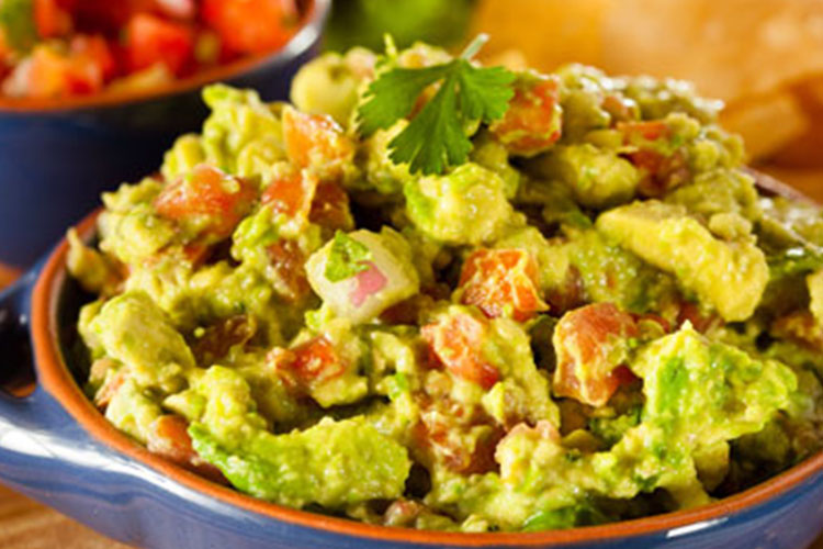 Guacamole with Corn and Fire-Roasted Tomatoes