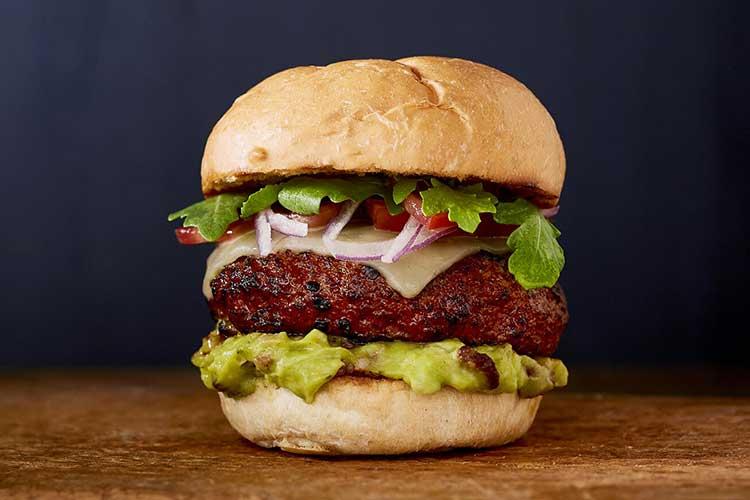 Yucatan Guacamole Hamburger