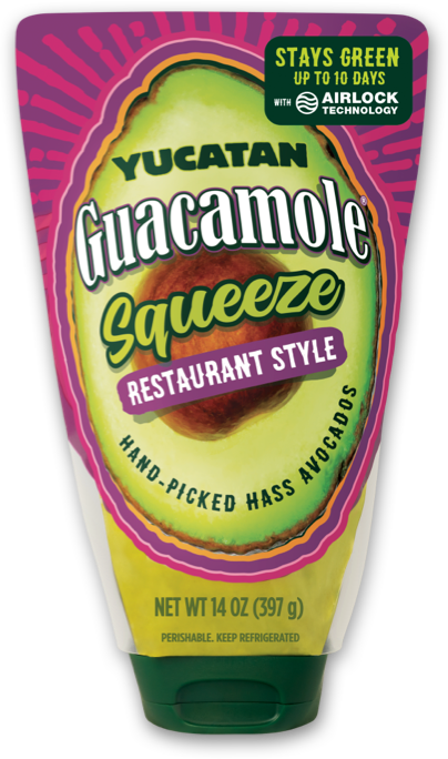 Restaurant Style Guacamole Squeeze